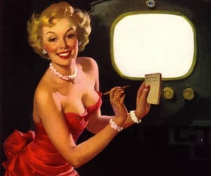 1940, 1940s, and pin up girls image