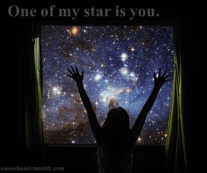 photography, text, and star image