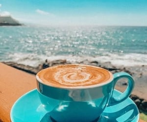 coffee and blue image