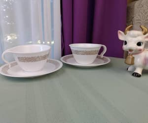 coffee cups, etsy, and kitsch kitchen image