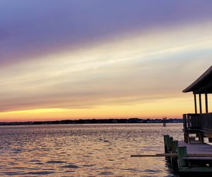 beauty, sunsets, and waterfront views image