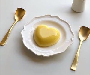 aesthetic, yellow, and dessert image