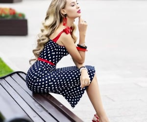 beauty, chic, and dress image