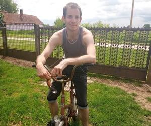 actor, bike, and feelings image