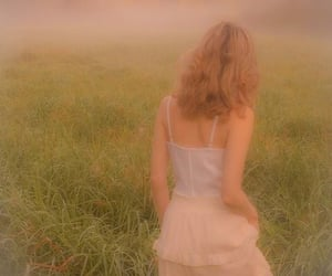 dress, field, and aesthetic image