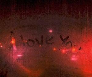 aesthetic, I Love You, and window image