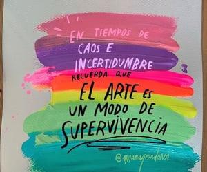 arte, vida, and frases en español image