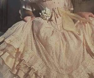 dress, fairytale, and diamond image