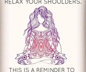 meditation, peaceful, and self care image