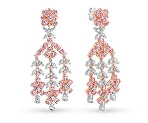 cubic zirconia rings, cubic zirconia earrings, and cubic zirconia bracelets image