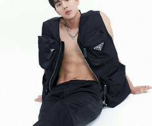 handsome, model, and abs image