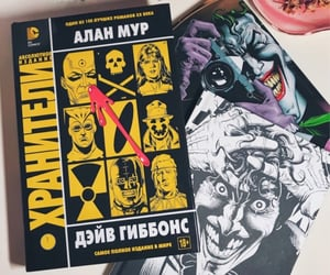 alan moore, collection, and watchmen image