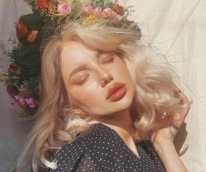 aesthetic, beauty, and girl image