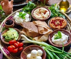 arabian, breakfast, and food image