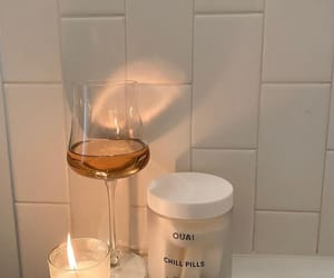 aesthetic, bath, and candle image