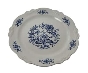 dinnerware, cottage decor, and imperial blue image