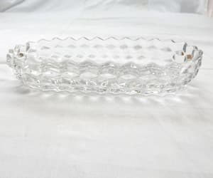 oval, pressed glass, and etsy image