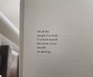 apology, poem, and quote image