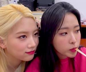 kim jungeun, kim lip, and loona image