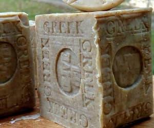 olive, olive oil, and natural soap image
