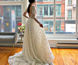 beautiful, bride, and brunette image