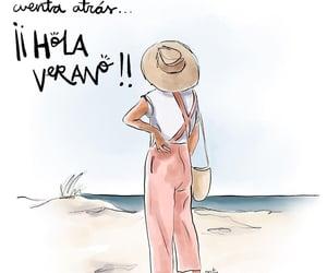 vacaciones, verano, and vida image
