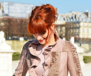 girl, red hair, and florence welch image