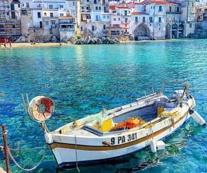 italy, cefalu, and nature image