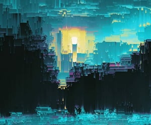 abstraction, glitch, and wallpaper image