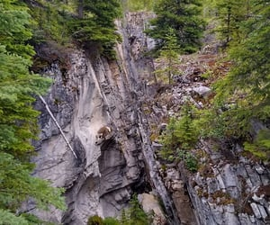 nature, rock, and trees image