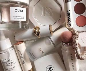 makeup and white image