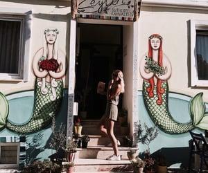 girls, mood, and travel image