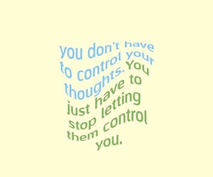 control, words, and life image