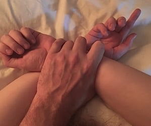 couple, hands, and nsfw image