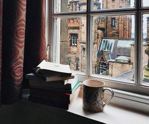 reading, edinburg, and dark academia image