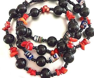 etsy, lampwork beads, and lampwork necklace image