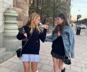 besties, fit, and private school image