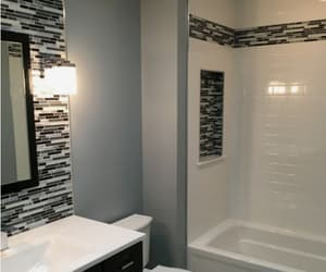 baths, bedrooms, and home decor image