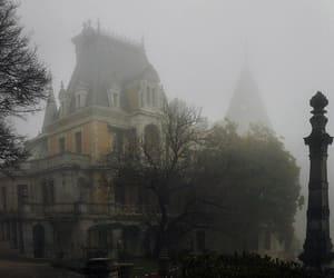 abandoned, autumn, and creepy image