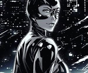 batman, catwoman, and comics image