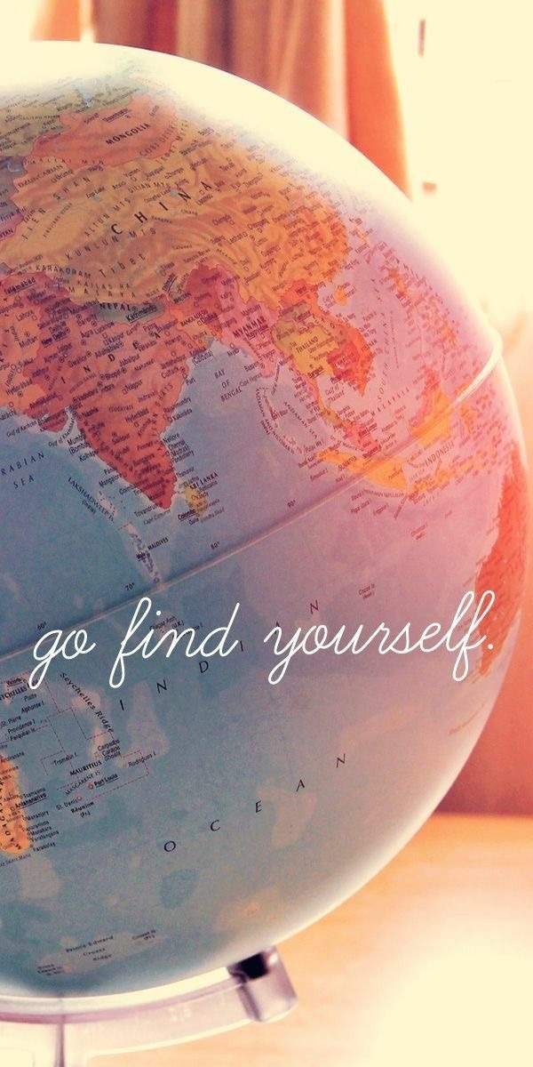 glove, travel, and go find yourself image
