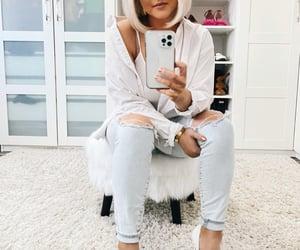 aesthetic, fashion, and whiteshirt image