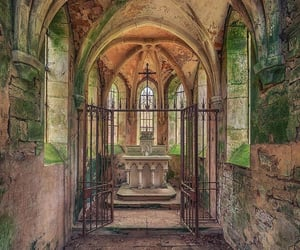 altar, chapel, and church image