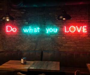 неон, wall, and love image