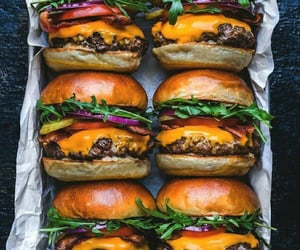 burger, fast food, and meal image