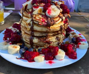 """foodmyheart:""""Homemade Pancakes from today, it was as delicious as it looks :)Source: https://reddit.com/r/foodpornhttp://foodmyheart.tumblr.com 