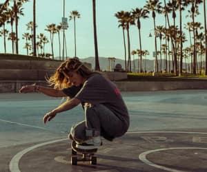 board, skatelife, and girl image