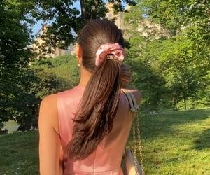 aesthetic, Central Park, and hairstyle image