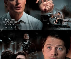 aesthetic, dean winchester, and quote image
