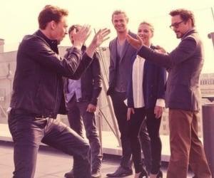Avengers, Marvel, and rdj image